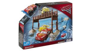Mattel - Disney Cars - Cars 3 Fireball Beach Wasser-Action Spielset