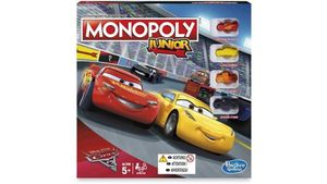Hasbro - Cars - Monopoly Junior