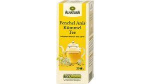 Alnatura Fenchel-Anis-Kümmel-Tee 20 Beutel