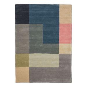 home24 Wollteppich Tiles