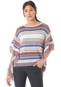 Rich & Royal Striped Knit - Strickpullover für Damen - Mehrfarbig