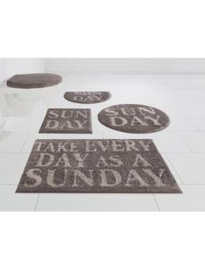 Badematte »Inka«, my home, Höhe 16 mm, rutschhemmend beschichtet