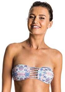 Roxy Pretty Strappy Love BA - Bikini Oberteil für Damen - Mehrfarbig