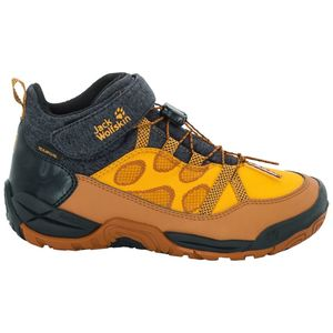 Jack Wolfskin Wasserdichter Freizeitschuh Kinder Jungle GYM Texapore Mid Kids 37 orange