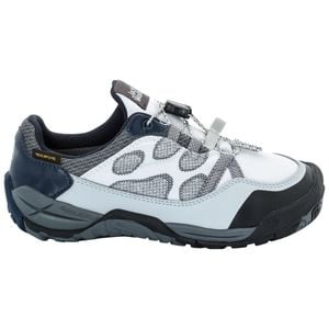 Jack Wolfskin Wasserdichter Freizeitschuh Kinder Jungle GYM Texapore Low Kids 36 grau