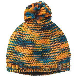 Jack Wolfskin Mütze Kinder Kaleidoscope Knit Cap Kids S orange