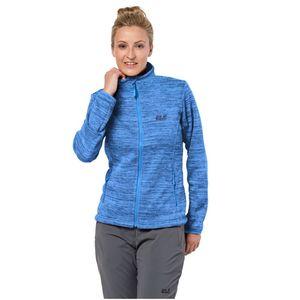 Jack Wolfskin Fleecejacke Frauen Aquila Track Jacket Women XL blau