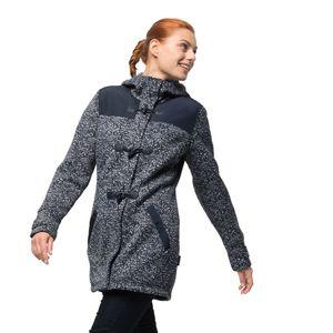 Jack Wolfskin Fleecemantel Frauen Belleville Coat XS blau
