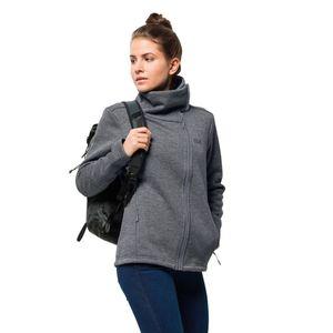 Jack Wolfskin Fleecejacke Frauen Atlantic SKY Jacket XL grau