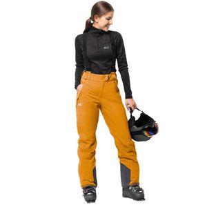 Jack Wolfskin Skihose Frauen Exolight Pants Women 34 citrine yellow