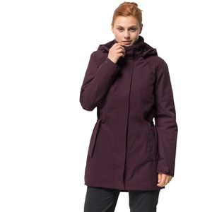 Jack Wolfskin Wintermantel Frauen Madison Avenue Coat XXL violett