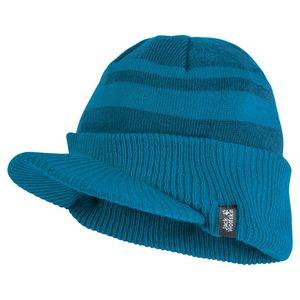 Jack Wolfskin Mütze Kinder Stormlock Windmill Cap Kids S blau