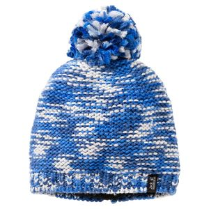 Jack Wolfskin Mütze Kinder Kaleidoscope Knit Cap Kids S blau
