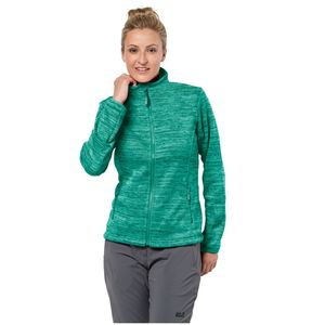 Jack Wolfskin Fleecejacke Frauen Aquila Track Jacket Women XL grün