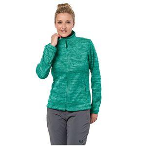 Jack Wolfskin Fleecejacke Frauen Aquila Track Jacket Women XS grün