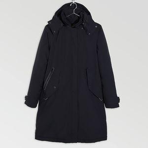 Jack Wolfskin Manhattan Insulated Coat Women M schwarz