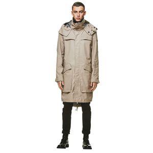 Jack Wolfskin Männer Parka Helsinki Coat Men S grau