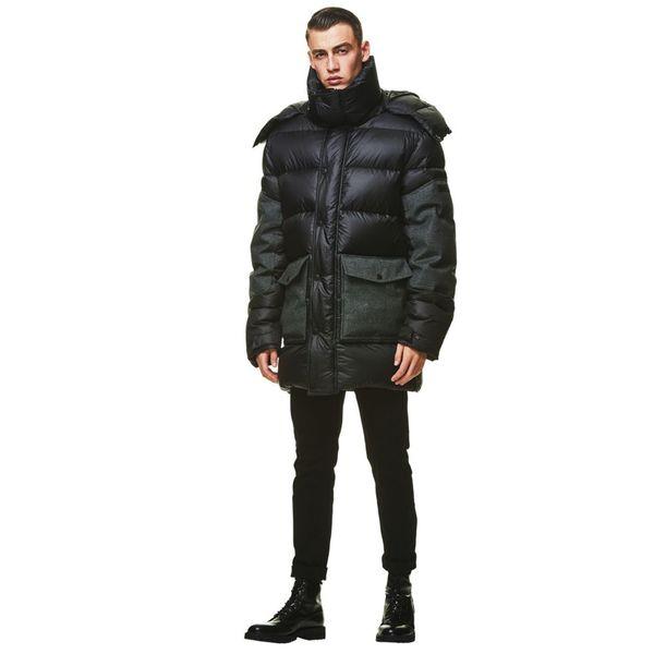 Jack Wolfskin Daunenmantel Männer Dolomites Coat Men XL phantom