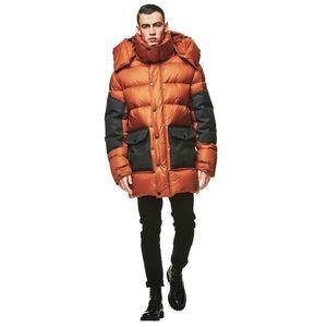 Jack Wolfskin Daunenmantel Männer Dolomites Coat Men L orange