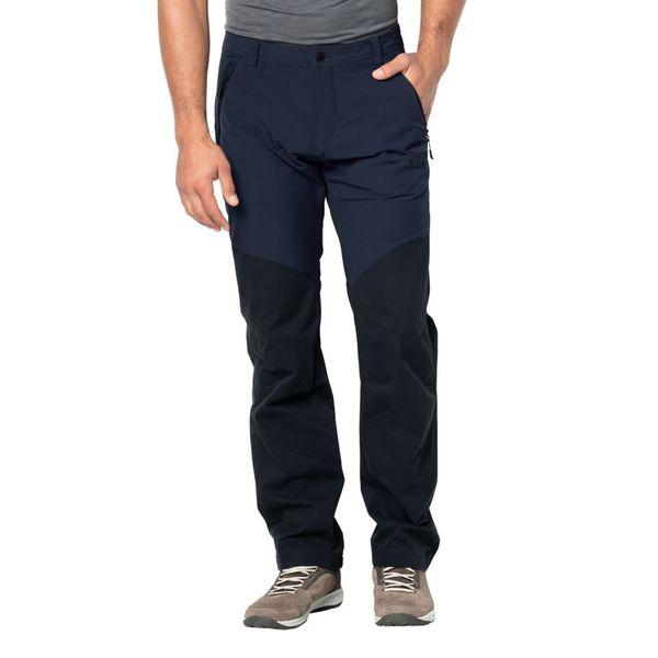 Jack Wolfskin Hose Männer Drake Flex Pants Men 90 blau