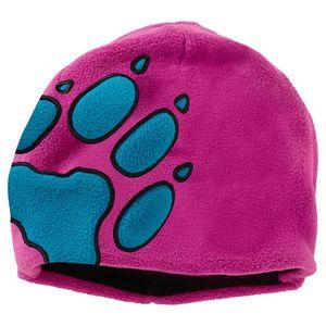 Jack Wolfskin Mütze Kinder Front Paw Hat Kids one size (49-55CM) violett