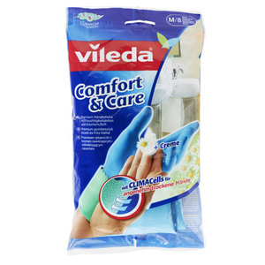"Vileda Haushaltshandschuh ""Comfort & Care"" Größe M"