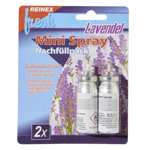 Reinex Nachfüller Mini-Spray ''Fresh'' 2 Stück, je 10 ml