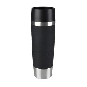 """Emsa Isolierbecher """"Travel Mug"""" in Schwarz 0,5 Liter"""