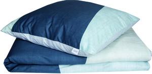 Schöner Wohnen Bettwäsche, Block-B, 135x200cm, dunkelblau