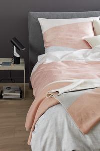 Schöner Wohnen Bettwäsche, Block-B, 135x200cm, flamingo