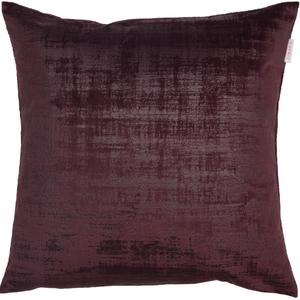 ESPRIT Stratch Samt-Kissenhülle 38 x 38 cm, Farbe Bordeaux