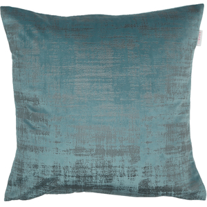 ESPRIT Stratch Samt-Kissenhülle 38 x 38 cm, Farbe Fjord (blasses Blau)