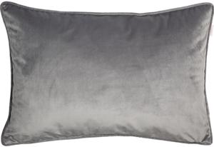 ESPRIT Cuddly Samt-Kissenhülle 38 x 58 cm, Farbe Grau