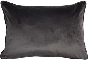 ESPRIT Cuddly Samt-Kissenhülle 38 x 58 cm, Farbe Braun