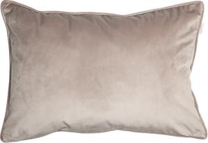 ESPRIT Cuddly Samt-Kissenhülle 38 x 58 cm, Farbe Sand
