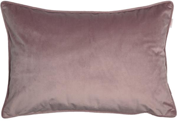 ESPRIT Cuddly Samt-Kissenhülle 38 x 58 cm, Farbe Nude (Altrosé)