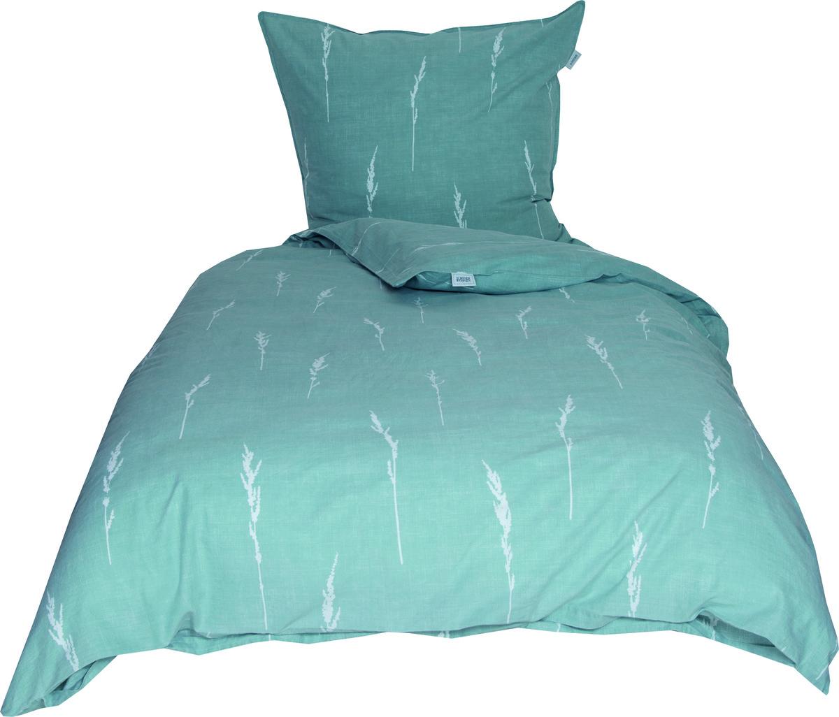 Bild 1 von Schöner Wohnen Bettwäsche, Gras-B, 135x200cm, mint