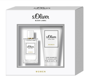 s.Oliver Black Label Women Duo Set 1 x Eau de Toilette 30ml + 1 x Duschgel 75ml
