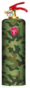 Safe-T ABC-Design-Feuerlöscher 1 kg, Motiv Army