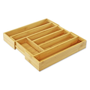 Steinbach Besteckkasten ausziehbar aus Bambus