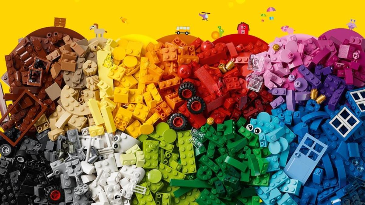 Bild 4 von LEGO® Classic  Bausteine - Kreativer Spielspaß, 11005