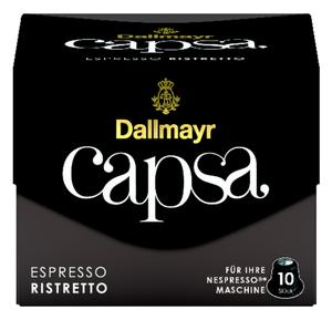 Dallmayr Capsa Espresso Ristretto | 10 Nespresso® komp. Kapseln