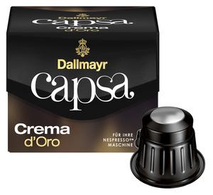 Dallmayr Capsa Crema d'Oro | 10 Nespresso® komp. Kapseln