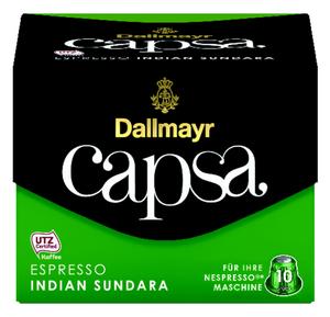 Dallmayr Capsa Espresso Indian Sundara | 10 Nespresso® komp. Kapseln
