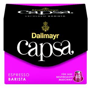 Dallmayr Capsa Espresso Barista | 10 Nespresso® komp. Kapseln