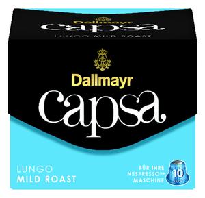 Dallmayr Capsa Lungo Mild Roast | 10 Nespresso® komp. Kapseln