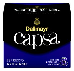 Dallmayr Capsa Espresso Artigiano | 10 Nespresso® komp. Kapseln