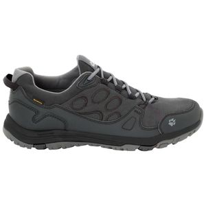 Jack Wolfskin Wasserdichte Männer Wanderschuhe Activate Texapore Low Men 44,5 phantom