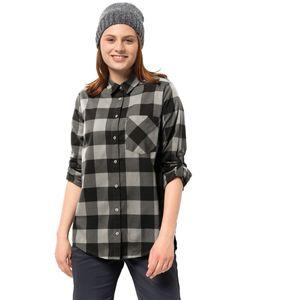 Jack Wolfskin Bluse Holmstad Shirt XL schwarz