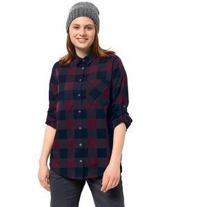 Jack Wolfskin Bluse Holmstad Shirt XL violett